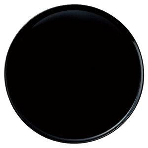 ラルジュ 27.5cmサークル(プレート(Black)) [D27.5 X H1cm]   大皿 プレート パーティ 人気 おすすめ 食器 洋食器 業務用 飲食店 カフェ うつわ 器 おしゃれ かわいい ギフト プレゼント 引き出物 誕生