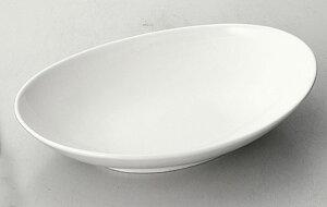 無国籍スタイル 26cmボートボール [26 x 17 x 5.5cm] 中国製 | 楕円 皿 形プラター 丸 パスタ 人気 おすすめ 食器 洋食器 業務用 飲食店 カフェ うつわ 器 おしゃれ かわいい ギフト プレゼント 引き