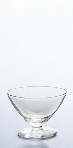 ガラス製品 Hcm・AXドレッシーシャーベット (6個入) [D104 x 72(最大径104)mm・195cc] 口部強化。 | ガラス グラス スイーツ おすすめ 食器 洋食器 業務用 飲食店 カフェ うつわ 器 おしゃれ かわ