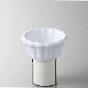 メラミン樹脂 スキャロップ ラメキン3oz(ホワイト) [D7.8 x 3.7 70cc] (48)中国 | メラミン 割れない 食器 介護 社食 学食 給食 病院 樹脂製 おすすめ 人気 業務用 飲食店 カフェ うつわ 器 おし