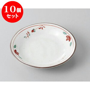 10個セット 小皿 有田焼京赤絵小皿 [10.5 x 2cm] | 小皿 取り皿 人気 おすすめ 食器 業務用 飲食店 カフェ うつわ 器 おしゃれ かわいい ギフト プレゼント 引き出物 誕生日 贈り物 贈答品