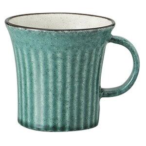トルコブルー削ぎマグ [ 9.4 x 12.2 x 9.5cm 300cc ] [ マグカップ ] | マグ マグカップ コーヒー 紅茶 ティー 人気 おすすめ 食器 洋食器 業務用 飲食店 カフェ うつわ 器 おしゃれ かわいい ギフト プ