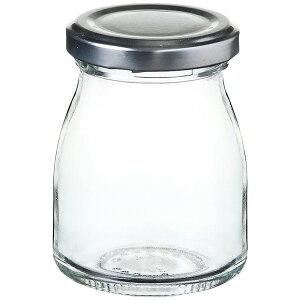 スモールヨーグルト [ Φ50(M57) x H78mm 90ml ] 【 キャニスター&ボトル 】| 保存容器 ジャム ガラス カフェ 雑貨 ベーカリー 業務用