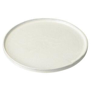 黒土粉引切立26.5cm丸皿 [ 26.7 x 2.4cm ] [ 大皿 ] | 大きい お皿 大皿 盛り皿 盛皿 人気 おすすめ パスタ皿 パーティー 食器 業務用 飲食店 カフェ うつわ 器 ギフト プレゼント誕生日 贈り物 贈答品