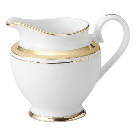 洋陶オープン ゴールドリッチ(ウルトラホワイト) クリーマー [ 7.7 x 7cm ・ 140cc ] 【料亭 旅館 和食器 飲食店 業務用】
