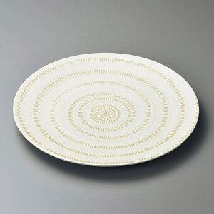 丸皿 かんなメタ9.0皿 [ 28.5 x 3cm ] | 大きい お皿 大皿 盛り皿 盛皿 人気 おすすめ パスタ皿 パーティー 食器 業務用 飲食店 カフェ うつわ 器 ギフト プレゼント誕生日 贈り物 贈答品 おしゃれ