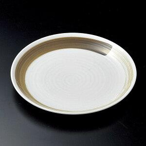 丸皿 和さび9.0寸丸皿(特白磁) [ 27.2 x 3.5cm ] | 大きい お皿 大皿 盛り皿 盛皿 人気 おすすめ パスタ皿 パーティー 食器 業務用 飲食店 カフェ うつわ 器 ギフト プレゼント誕生日 贈り物 贈答