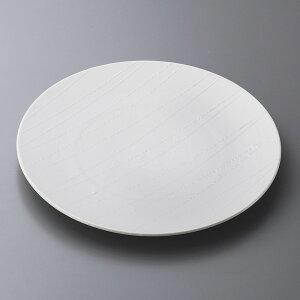 丸皿 アララギ白28cmディナー [ 28.2 x 2.7cm ]   大きい お皿 大皿 盛り皿 盛皿 人気 おすすめ パスタ皿 パーティー 食器 業務用 飲食店 カフェ うつわ 器 ギフト プレゼント誕生日 贈り物 贈答品