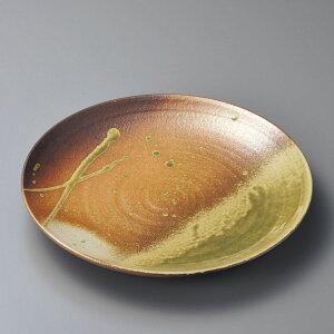 丸皿 古信楽9.0丸皿(信楽焼) [ 28.5 x 4cm ]   大きい お皿 大皿 盛り皿 盛皿 人気 おすすめ パスタ皿 パーティー 食器 業務用 飲食店 カフェ うつわ 器 ギフト プレゼント誕生日 贈り物 贈答品