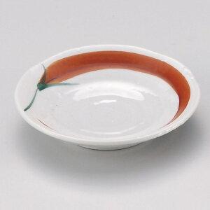 小皿 赤とうがらし3.0皿 [ 9.8 x 2cm ] | 小皿 取り皿 人気 おすすめ 食器 業務用 飲食店 小さいお皿 カフェ うつわ 器 おしゃれ かわいい ギフト プレゼント 引き出物 誕生日 贈り物 贈答品 SNS 便