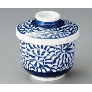 むし碗 / 唐草むし碗(大) [ 80 x 90mm ] | 茶碗蒸し ちゃわんむし 蒸し器 寿司屋 碗 むし碗 食器 業務用 飲食店 おしゃれ かわいい ギフト プレゼント 引き出物 誕生日 贈り物 贈答品