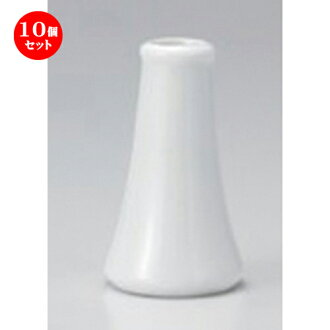Ten set ☆ funerals and festivals tool ☆ white 3.5 榊立 [88 g of 6 x 10.5cm]