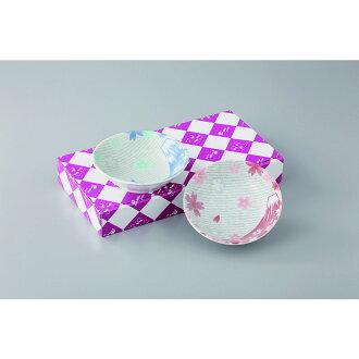 频繁使用饭市田hiromi世界遗产富士4.0饭2P[物品:碗x2/R14x3.8cm箱子:15.2x29.5x4.5cm]530g化粧箱美濃焼