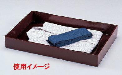 客室用品 衣裳盆茶乾漆 [60.3 x 39.3 x 8cm] 木製品 (7-911-3) 【料亭 旅館 和食器 飲食店 業務用】