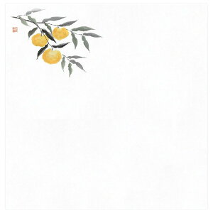 4寸花宴耐油天紙 100枚入 柚子(10月〜12月) [ 約12 x 12cm ] | 天婦羅 天ぷら テンプラ おすすめ 人気 食器 業務用 飲食店 カフェ うつわ 器 おしゃれ かわいい お洒落 可愛い ギフト プレゼント 引き