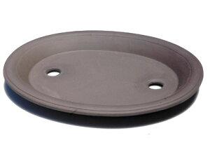 【清峰造】南蛮皿15号(ウ泥)【和風植木鉢 ミニ盆栽鉢 陶器 磁器】