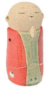 【お地蔵さん】お地蔵様香炉赤5.3寸/手づくり贈り物ギフト プレゼント プチギフト お線香立て 販売 御香 お香 香炉 アロマ 癒しグッズ 内祝い 快気祝い 引越し祝い 新築祝い