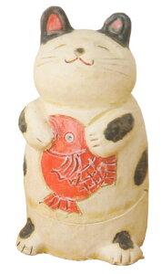 鯛持ち白猫 香炉 中贈り物ギフト プレゼント プチギフト お線香立て 販売 御香 お香 香炉 アロマ 癒しグッズ 内祝い 快気祝い 引越し祝い 新築祝い