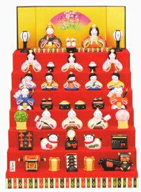 錦彩 華みやび 雛 七段飾 出産祝い 陶器 ひな人形 雛人形 桃の節句 雛祭 内祝 誕生日 お祝 お雛様 お雛さま おひな様 ひな祭り