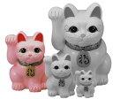 開運アップ!ピンク招き猫7号貯金箱置物【開運アイテム 招き猫 販売 まねき猫 新築祝い 開店祝い 風水 グッズ】