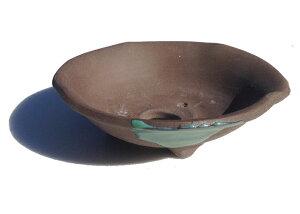 【植木鉢】山草浅丸3号【和風植木鉢 ミニ盆栽鉢 陶器 磁器】