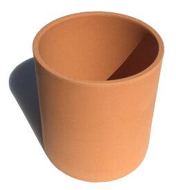 素焼きの切立丸小 テラコッタ おしゃれ 植木鉢