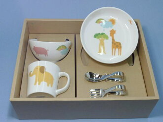 Noritake child tableware peaceful world 5-piece child set