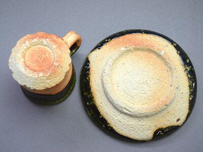 【信楽焼】珈琲碗皿