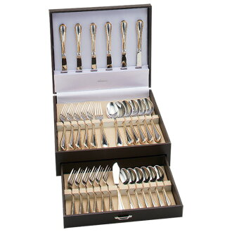 Noritake cutlery gold Marquis series 31-piece set