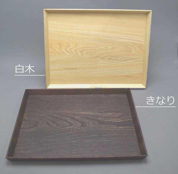 そのべ木のうつわ 木の道具お膳トレー 12寸せん白木/きなり専用化粧箱入り