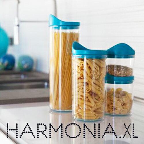 HARMONIA XLARGE ハーモニア Xラージ フードストック ジャー 容器 100% イタリア製 POS DESIGN YOUは何しに ショッピング 滑り止め 積み重ね式 フード コンテナ ストッカー 保存容器 絶対に壊れない パスタ容器 パスタ ケース 小物入れ ハルモニア