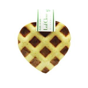 期間限定 修道院の味 無農薬薄焼きワッフルクッキー リーフ クローバー 2枚入×10袋 【お1人様3セット限り】