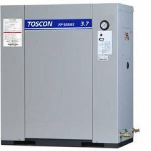 東芝 エアコンプレッサ FP146-37T 静音 パッケージ給油式中圧 圧力開閉器式 三相200V 3.7kW 60Hz