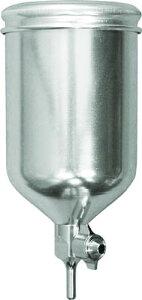 KGL-400 デビルビス 重力式塗料カップ超軽量アルミアルマイト製固定式400cc