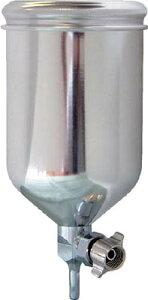 KGL-400-FA-ST デビルビス 重力式塗料カップ超軽量アルミアルマイト製自在式400ccG1/4