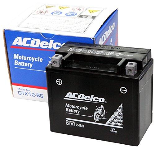 ACDelco ACデルコバイク用バッテリー液入充電済みDTX12-BS主な互換品番:YTX12-BS/FTX12-BS/RBTX12-N地域限定(本州・四国・九州)送料無料