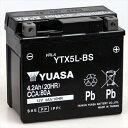 台湾YUASA 台湾ユアサバイク用バッテリー液入充電済みYTX5L-BS主な互換品番:FTX5L-BS・DTX5L-BS・NBC5L-B・SRBTX5L-N地域...