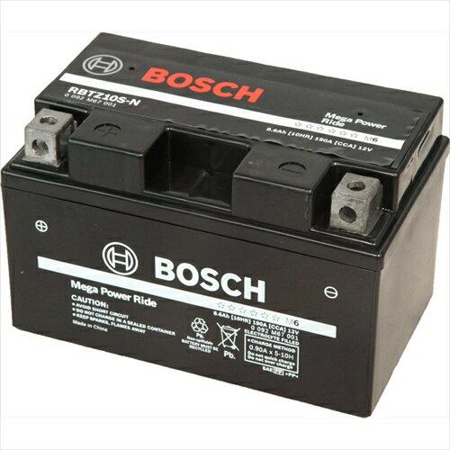 BOSCHバイク用バッテリー液入充電済みRBTZ10S-N主な互換品番:YTZ10S/FTZ10S/DTZ10S/ATZ10S地域限定(本州・四国・九州)送料無料