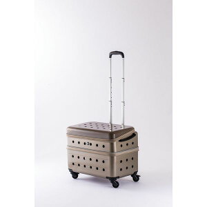 PUBT JAPANPK-02B-51 CHAMPAGNE GOLDRui&aguri ペットキャリーケース 最大耐荷重:25〜30kg シャンパンゴールド[配送区分:小型20kg]