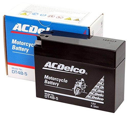 ACDelco ACデルコバイク用バッテリー液入充電済みDTR4A-BS主な互換品番:YTR4A-BS/FTR4A-BS/RBTR4A-N地域限定(本州・四国・九州)送料無料