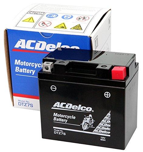 ACDelco ACデルコバイク用バッテリー液入充電済みDTZ7S主な互換品番:YTZ7S/FTZ7S/DTZ7S/RBTZ7S-N地域限定(本州・四国・九州)送料無料