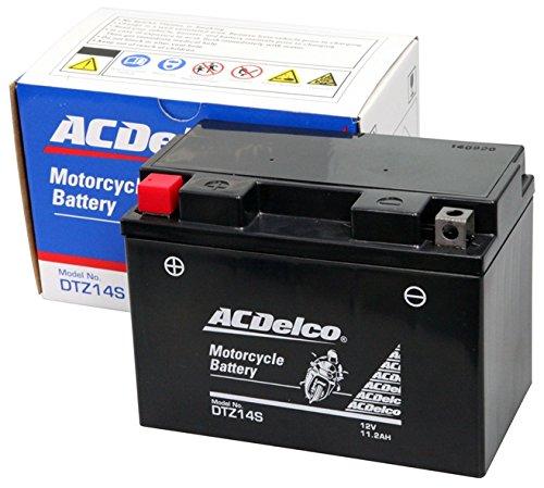 ACDelco ACデルコバイク用バッテリー液入充電済みDTZ14S主な互換品番:YTZ14S/FTZ14S/RBTZ14S-N地域限定(本州・四国・九州)送料無料