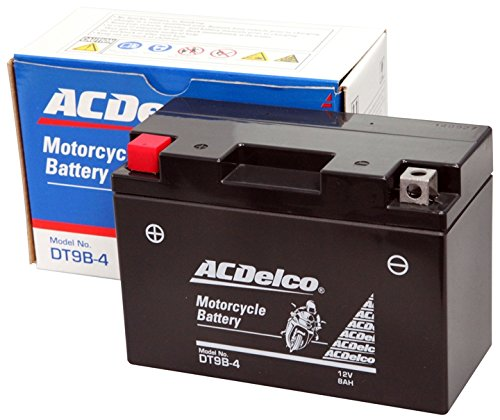 ACDelco ACデルコバイク用バッテリー液入充電済みDT9B-4主な互換品番:FT9B-4/RBT9B-4N地域限定(本州・四国・九州)送料無料