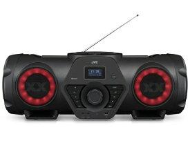 """【アウトレット:新品未開封品】JVC パワードウーハーCDシステム RV-NB250BT """"重低音&タフボディ""""「XX」シリーズのオールインワンポータブルシステム CD/ラジオ/USB/Bluetooth/マイク/ギター入力に加え、内蔵バッテリーによる駆動も可能"""