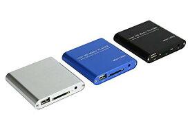 【送料無料・一部地域除く】PC不要! 極小型 映像 再生機器 デジタル マルチメディアプレーヤーSD/USB/HDD HDMI出力 対応 TEC-MINIMEDIAD