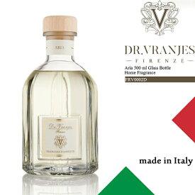 祝★開店 ドットール・ヴラニエス ルーム フレグランス ディフューザー Dr.Vranjes Aria 500 ml Glass Bottle Home Fragrance FRV0002D 芳香剤 部屋 高級[ZRC]