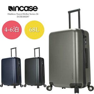 祝★開店 インケース バッグ スーツケース INCASE Hubless Travel Roller Series 26 INTR100297 ローラー キャリーバッグ キャスター メンズ レディース ユニセックス 男性 女性 国内 国外 旅行 飛行機 収納