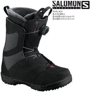 祝★開店[日本正規品][対象商品とSETでお得]スノーボード ブーツ サロモン パール ボア 2020 SALOMON PEARL BOA Black スノボー 19-20 女性用 レディース ウーマンズ かわいい かっこいい