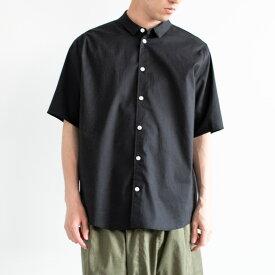 firmum ソロテックスハーフスリーブシャツ sus4-s9-fr201s5bk color:95(black)