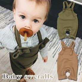 ベビー服 赤ちゃん 服 オーバーオール つなぎ ロンパース カバーオール キッズ 女の子 男の子 トップス 子供 アウター ズボン h0252